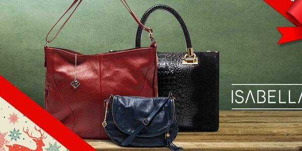 Elegantní kožené kabelky Isabella Rhea
