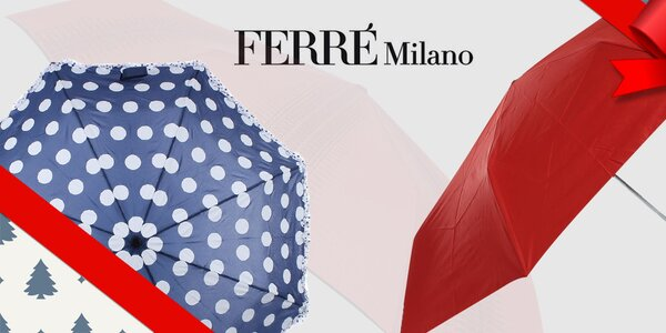 Kamarád do deště - dámské deštníky Ferré Milano