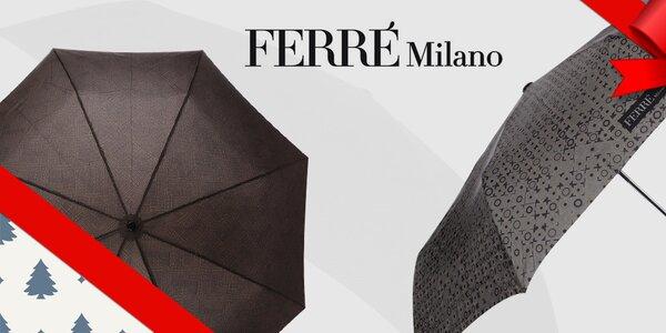 Kamarád do deště - pánské deštníky Ferré Milano