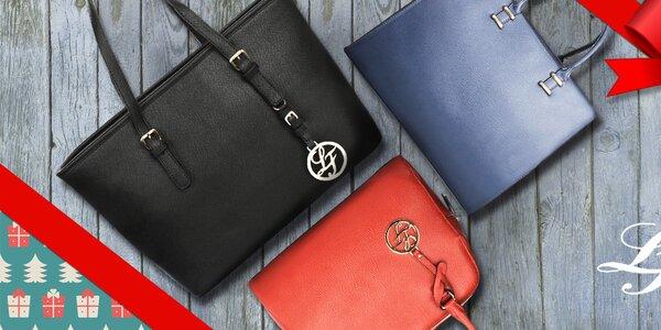 Šmrncovní kabelky a psaníčka London Fashion