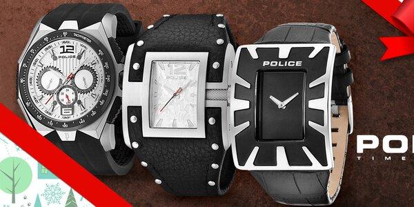 Police - hodinky, které nosí hvězdy