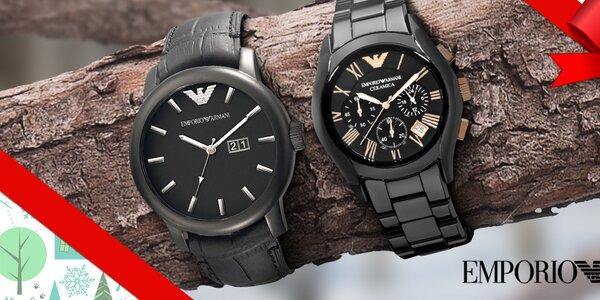 Nadělte luxusní pánské hodinky Emporio Armani