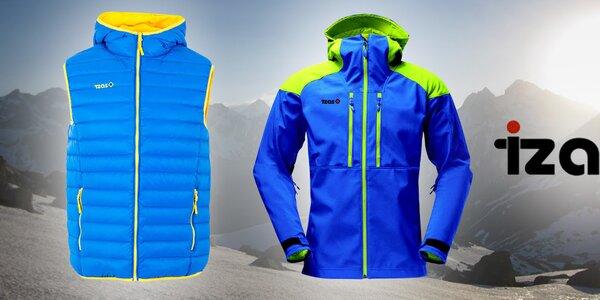 Funkční a barevné outdoorové oblečení pro muže Izas