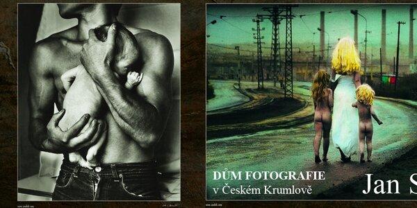 Vstupenka na výstavu fotografií Jana Saudka