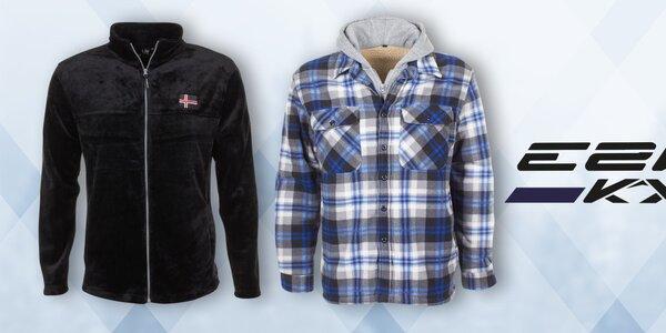 Stylové zimní oblečení pro muže E2ko