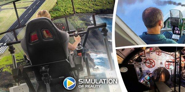 Napínavý zážitek na vojenských simulátorech