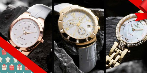 S diamanty i bez - dámské hodinky Christina London, Obaku, Just Cavalli aj.