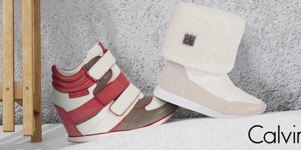 Mix stylových dámských bot Calvin Klein