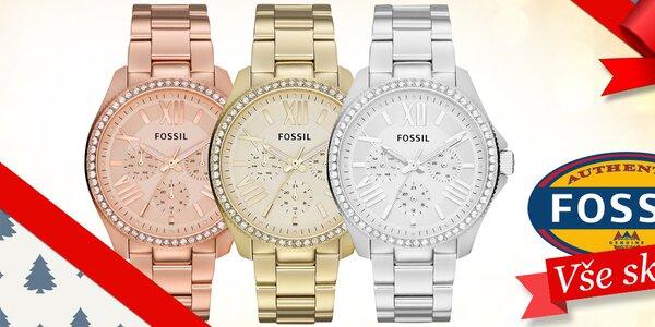 Darujte k Vánocům okouzlující dámské hodinky Fossil
