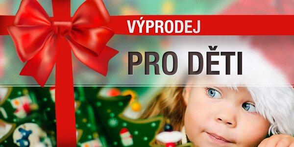 Vánoční výprodej – hračky a zábavné doplňky pro děti