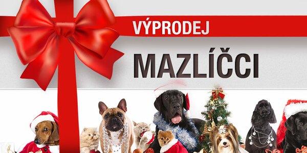 Vánoční výprodej zboží pro zvířecí miláčky