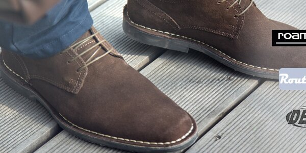 Kožené boty pro stylové muže Roamers, Route 21, Grafters aj.