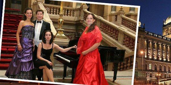 Adventní i novoroční koncerty v Národním muzeu - 14 termínů