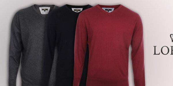 Pánské svetry v oblíbených barvách Loram