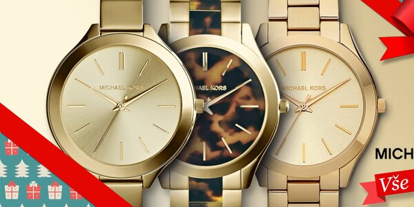 Vánoce se blíží - darujte hodinky Michael Kors