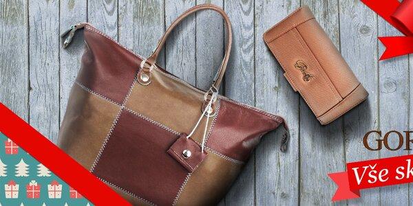 Tip na Vánoce - dámské kabelky a peněženky Gorétt