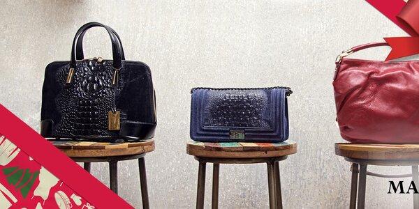 Neodolatelné dámské kožené kabelky Mangotti