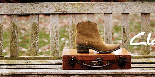 Noste pořádné boty - dámská obuv Clarks
