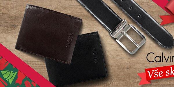 Pánské peněženky a oboustranné pásky Calvin Klein