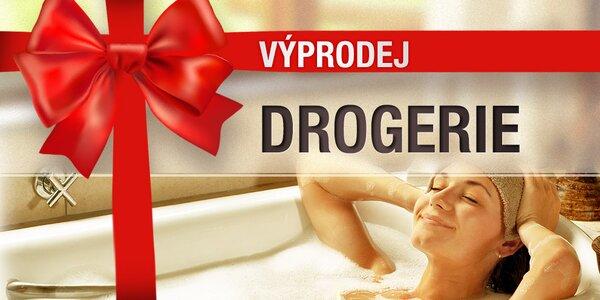 Vánoční výprodej kosmetiky a drogerie
