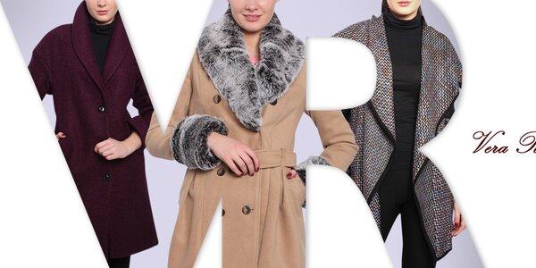 Vera Ravenna - kabáty pro sebevědomé ženy
