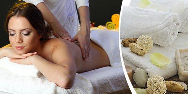 Příjemná masáž šíje,zad a ramen s vůní vanilky a rakytníku
