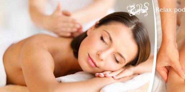 Uvolňující masáž hlavy proti migrénám nebo Havajská masáž Lomi Lomi