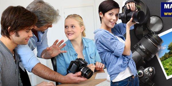 Intenzivní 5hodinový fotografický kurz u profesionála