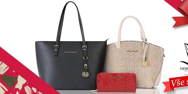 Parádní dámské kabelky a peněženky Giorgio di Mare