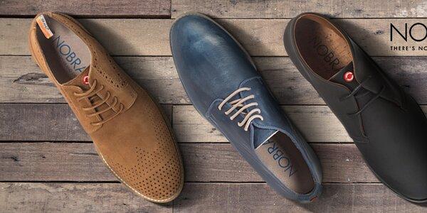 Nobrand - stylové pánské boty ruční výroby