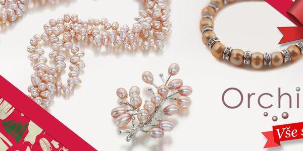 Darujte radost - dámské perlové šperky Orchira