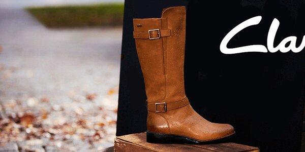 Clarks - dámské kožené boty, které mají šmrnc