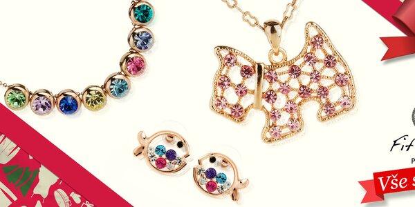 Dámské šperky s krystalky Fifi Ange