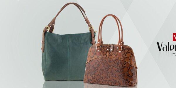 Půvabné kožené kabelky Valentina Italy