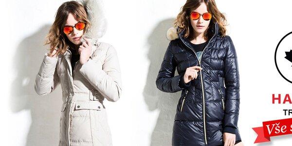 Stylové dámské bundy a kabáty Halifax