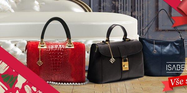 Neodolatelné kožené kabelky Isabella Rhea