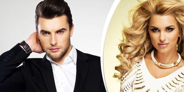 Precizní střih vlasů a možností barvení pro ženy i muže