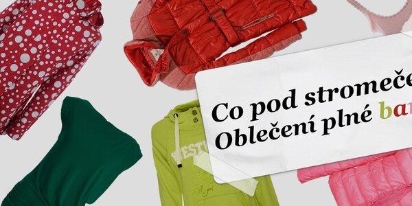 Tipy na dárek: Barevné oblečení pro hezčí den