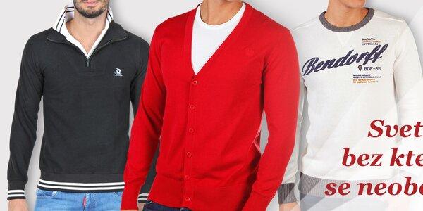 Pestrá nabídka pánských svetrů - vše skladem