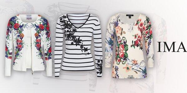 Barevné dámské svetry a kalhoty Imagini