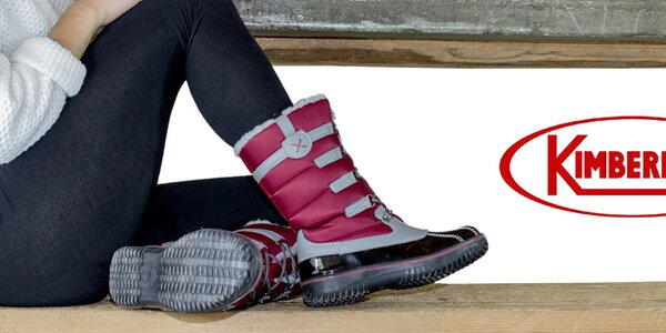 Dámské boty a batohy Kimberfeel