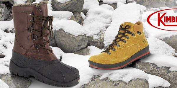 Pánské boty a batohy Kimberfeel