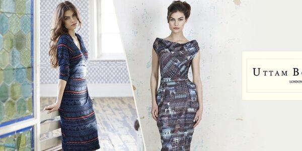 Dámské vzorované šaty a svetry Uttam Boutique