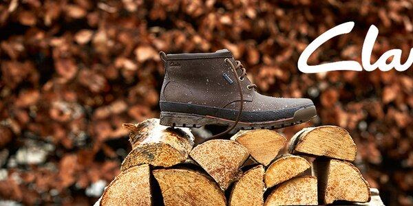 Clarks - stylové pánské boty do města