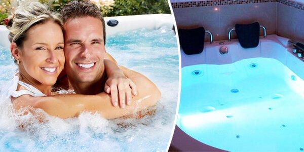 Privátní vířivka na 2 hodiny - naprosté soukromí, klid, relaxace a romantika