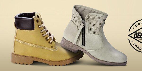 Módní dámské boty Destroy