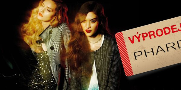 Výprodej italské dámské módy Phard - vše skladem