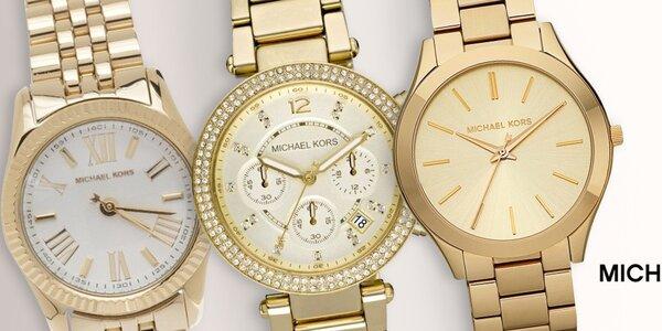 Nádherné dámské hodinky Michael Kors