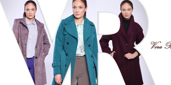 Neodolatelné dámské kabáty a saka Vera Ravenna