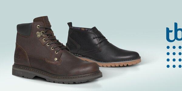TBS - moderní pánské boty, které vás dostanou